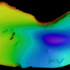 Multibeam SONAR on Kosrae
