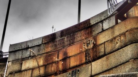 Dedication Inscription on the dry dock:  June 24, 1833