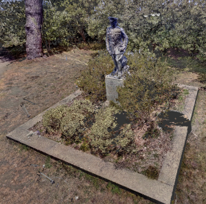 General Pershing Statue Point Cloud