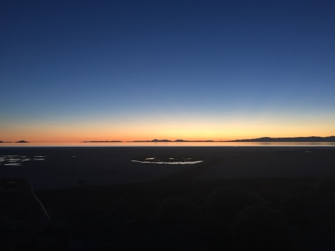 Spiral Jetty at Sunset